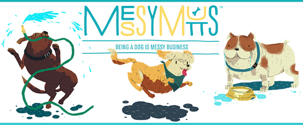 messy mutts logo