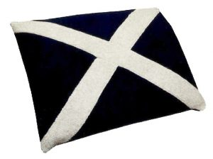 st andrew flag bed