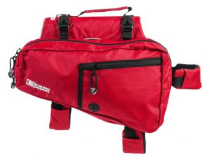 canine equipment pack red