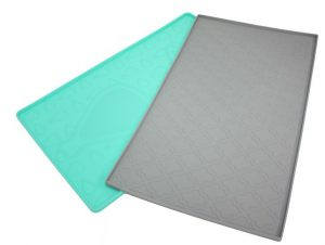 Be one Breed turquoise and grey placemats