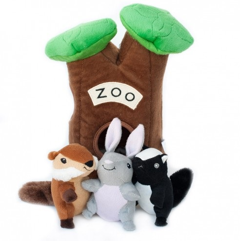 Zoo burrow
